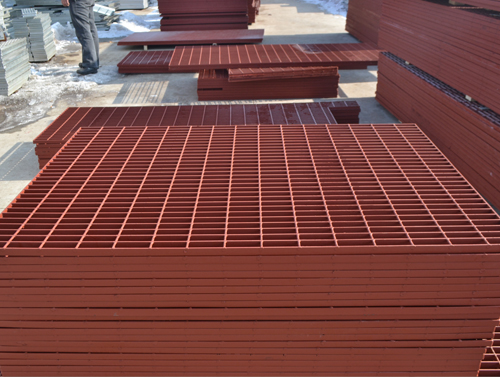 Paint Spraying Flat Steel Grating Products